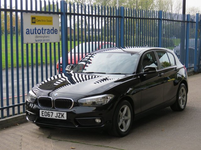 USED 2017 67 BMW 1 SERIES 1.5 116D SE 5d 114 BHP ULEZ COMPLIANT, SAT NAV SATELLITE NAVIGATION, CRUISE CONTROL, CLIMATE CONTROL A/C, AUTO LIGHTS AND WIPERS, BLUETOOTH AND DAB