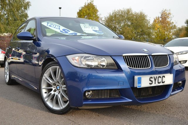 USED 2006 06 BMW 3 SERIES 3.0 330D M SPORT 4d 228 BHP 1 OWNER FROM NEW ~ 2 KEYS ~ 12 MONTHS MOT ~ 6 MONTHS WARRANTY