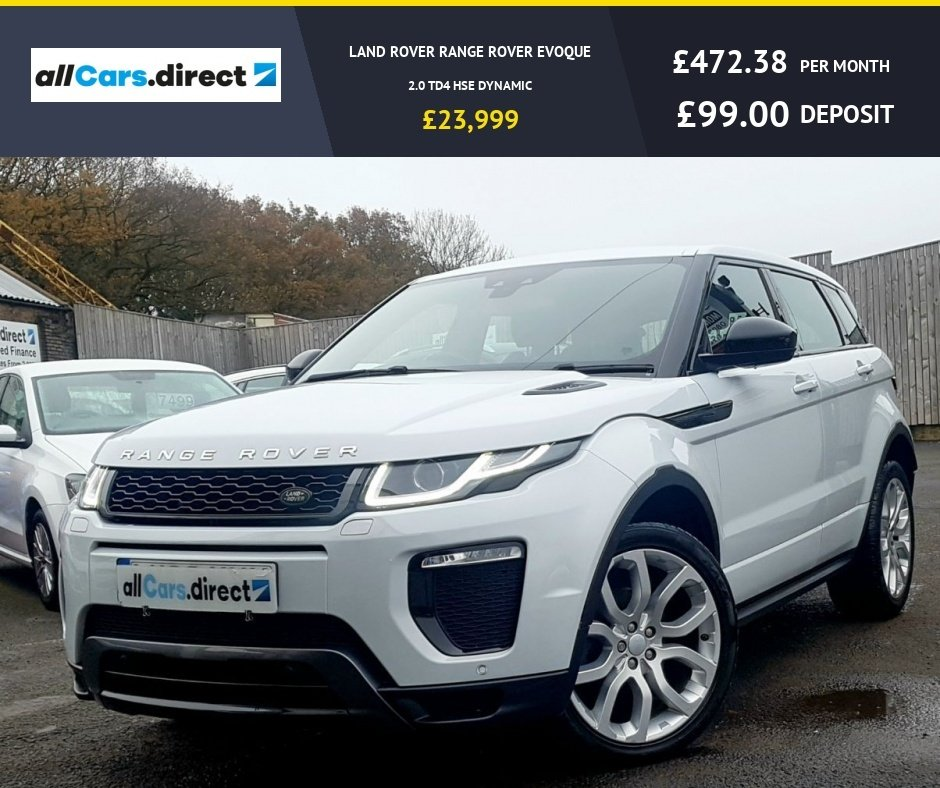 USED 2016 66 LAND ROVER RANGE ROVER EVOQUE 2.0 TD4 HSE DYNAMIC