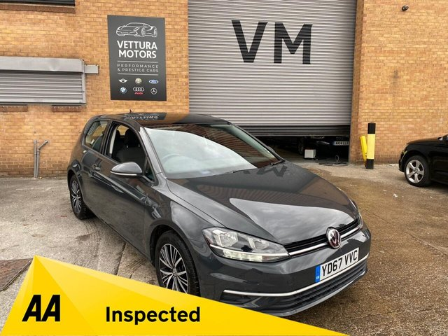 USED 2017 67 VOLKSWAGEN GOLF 1.4L SE NAVIGATION TSI BLUEMOTION TECHNOLOGY 3d 124 BHP