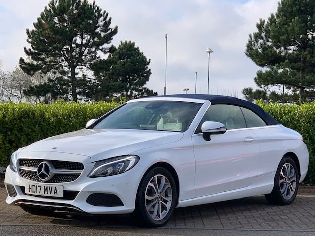 USED 2017 17 MERCEDES-BENZ C-CLASS 2.0 C 200 SPORT PREMIUM PLUS 2d 181 BHP