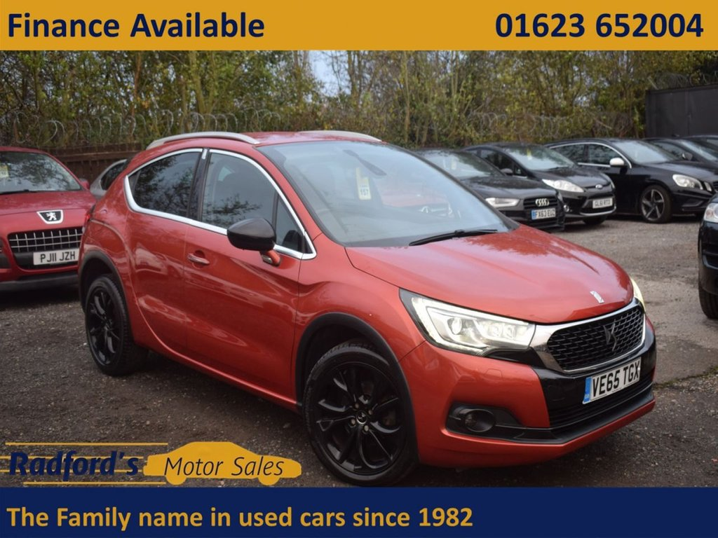 USED 2015 S DS DS 4 1.6 BLUEHDI CROSSBACK S/S 5d 120 BHP