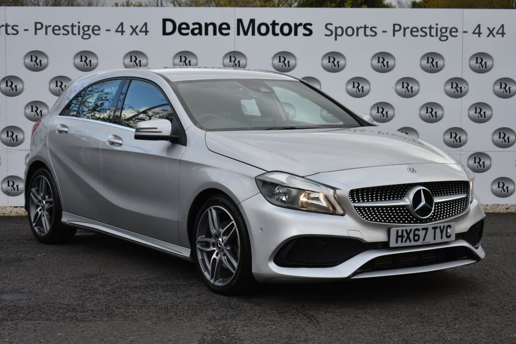 USED 2017 67 MERCEDES-BENZ A-CLASS 1.6 A 200 AMG LINE EXECUTIVE 5d 154 BHP BIG SPECIFICATION