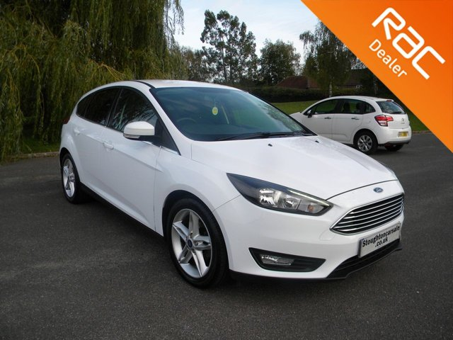 USED 2017 17 FORD FOCUS 1.5 ZETEC TDCI 5d 118 BHP BY APPOINTMENT ONLY - Sat Nav, Alloy Wheels, Bluetooth, Cruise Control, DAB, Air Con, Rear Parking Sensors
