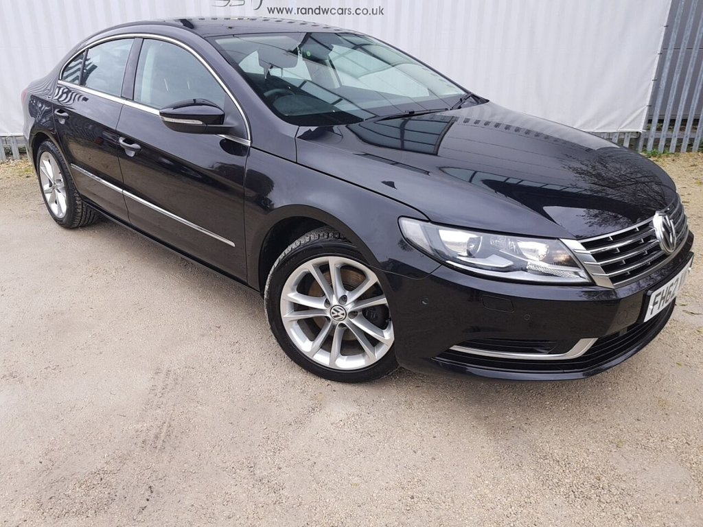USED 2013 62 VOLKSWAGEN CC 2.0 TDI BLUEMOTION TECHNOLOGY 4d 138 BHP