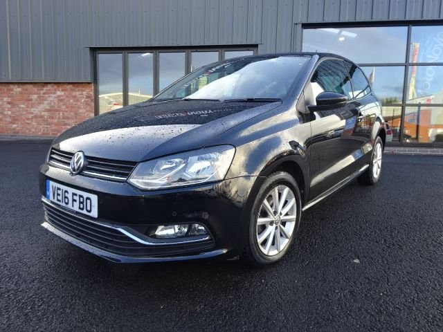 USED 2016 16 VOLKSWAGEN POLO 1.0 MATCH 3d 74 BHP FULLY SERVICED+1 YEAR MOT+BREAKDOWN COVER, LOW MILEAGE