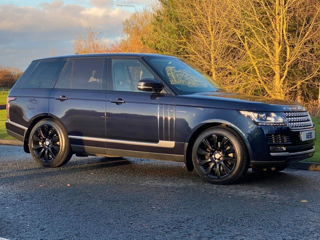 USED 2016 66 LAND ROVER RANGE ROVER 3.0 TDV6 VOGUE 5d 255 BHP Electric Pan Roof Rear Camera