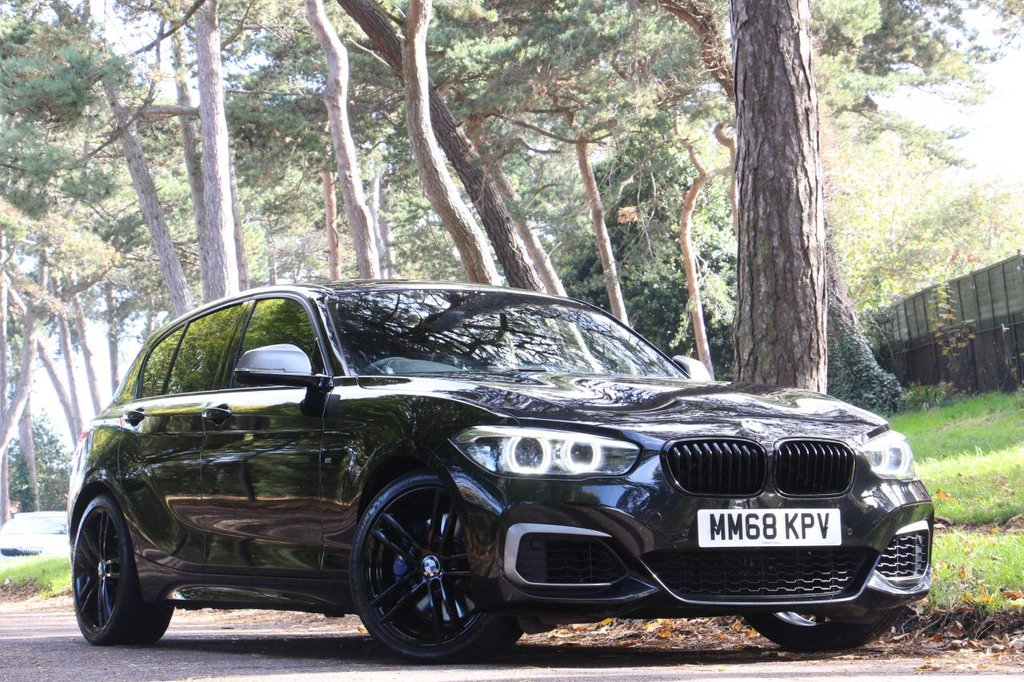 USED 2018 68 BMW 1 SERIES M140i SHADOW EDITION 5d 340 BHP