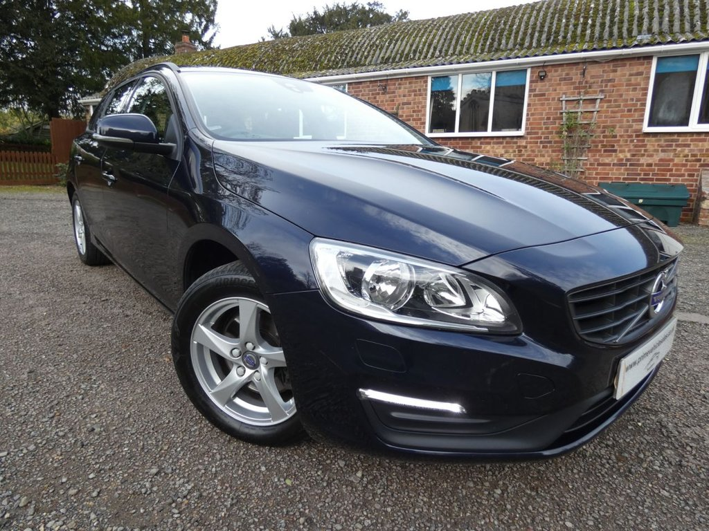 USED 2016 16 VOLVO V60 2.0 D3 150 Business Edition Leather s/s 5dr