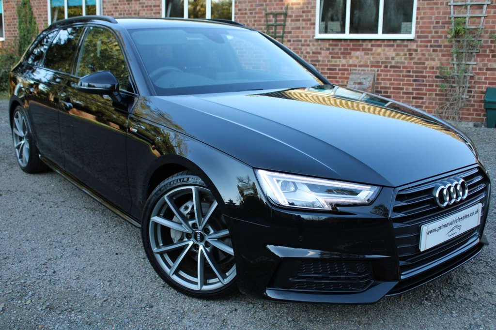 USED 2017 17 AUDI A4 2.0 TDI 190 S-Line Black Pack Avant S-Tronic 5dr