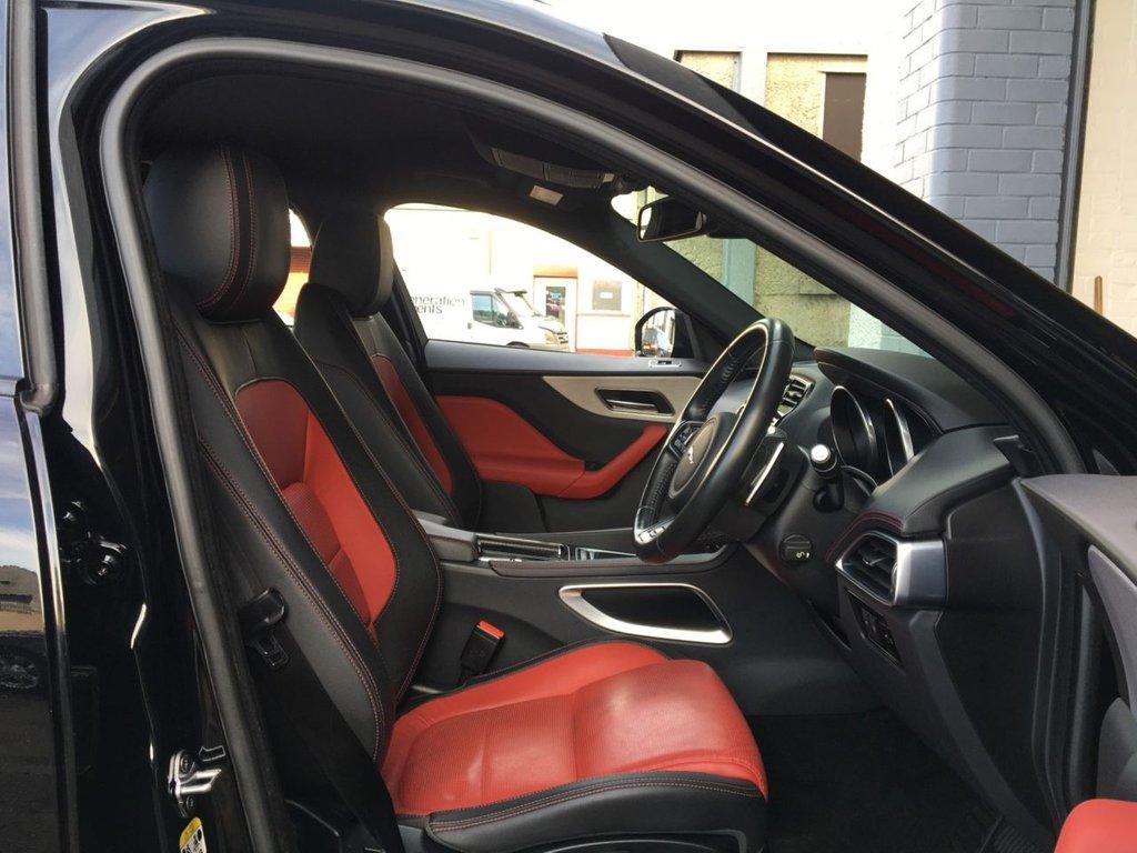 USED 2017 67 JAGUAR F-PACE 2.0 R-SPORT 5d 178 BHP