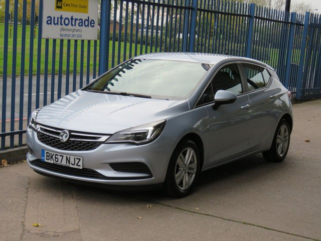 USED 2017 67 VAUXHALL ASTRA 1.6 TECH LINE CDTI ECOFLEX S/S 5dr 108 Sat nav Apple Car Play DAB Bluetooth & audio Cruise Finance arranged Part exchange available Open 7 days ULEX Compliant