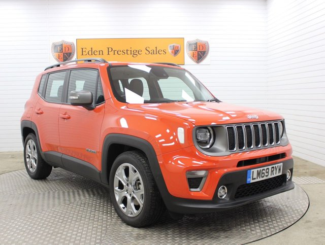USED 2019 69 JEEP RENEGADE 1.0 LIMITED 5d 118 BHP