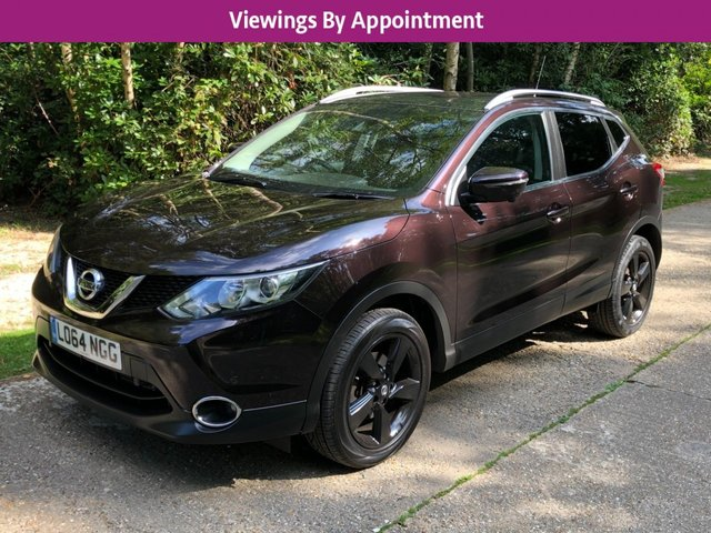 USED 2014 64 NISSAN QASHQAI 1.2 N-TEC PLUS DIG-T XTRONIC 5d 113 BHP MANY EXTRAS LOW MILEAGE FINANCE ME TODAY-UK DELIVERY POSSIBLE