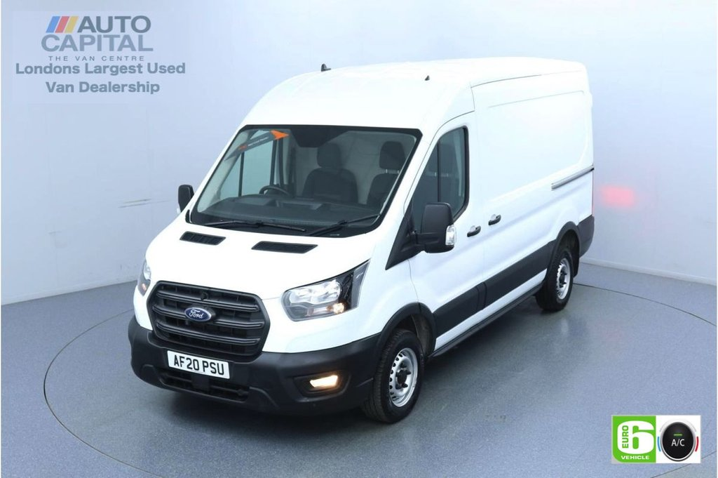USED 2020 20 FORD TRANSIT 2.0 310 Leader EcoBlue L2 H2 104 BHP Low Emission Air Con | Front-Rear parking sensors | Auto Start-Stop