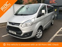 USED 2013 63 FORD TOURNEO CUSTOM 2.2 300 LIMITED TDCI 5d 153 BHP 9 SEATS, LEATHER, 1 OWNER