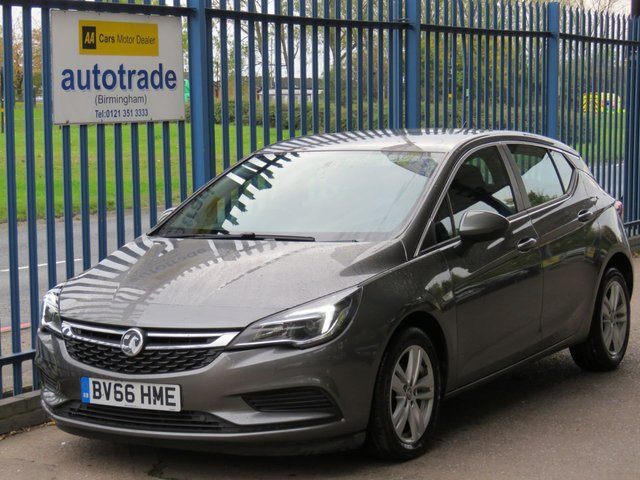 USED 2016 66 VAUXHALL ASTRA 1.6 TECH LINE CDTI ECOFLEX S/S 5d 108 BHP ULEZ COMPLIANT, SAT NAV, FRONT AND REAR SENSORS, HISTORY, CAR PLAY, ZERO ROAD TAX 1 OWNER, FRONT AND REAR PARKING SENSORS, ULEZ COMPLIANT, SAT NAV, APPLE CAR PLAY ANDROID AUTO, CRUISE CONTROL, BLUETOOTH, SERVICE HISTORY
