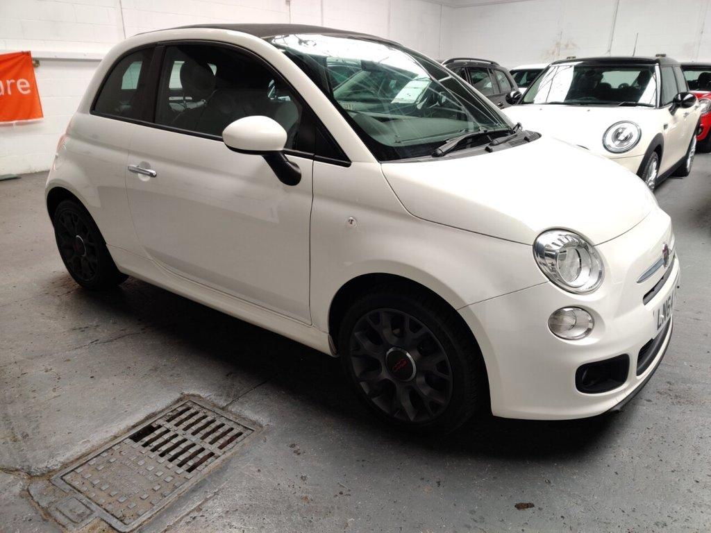 USED 2014 64 FIAT 500 1.2 C S 3d 69 BHP