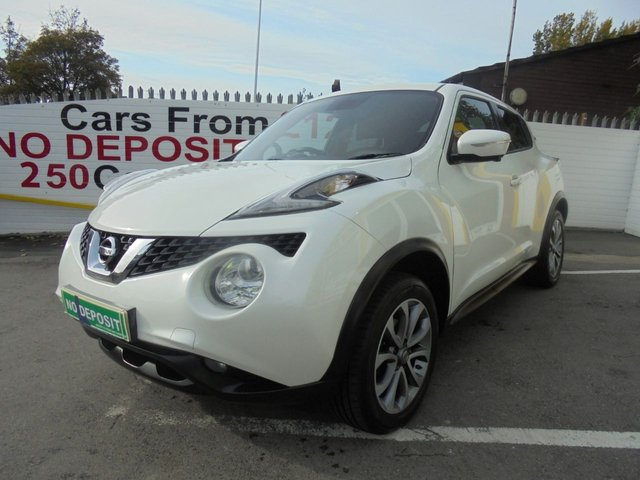 USED 2014 14 NISSAN JUKE 1.5 TEKNA DCI 5d 110 BHP ** TEST DRIVE TODAY **NO DEPOSIT DEALS**SAT NAV