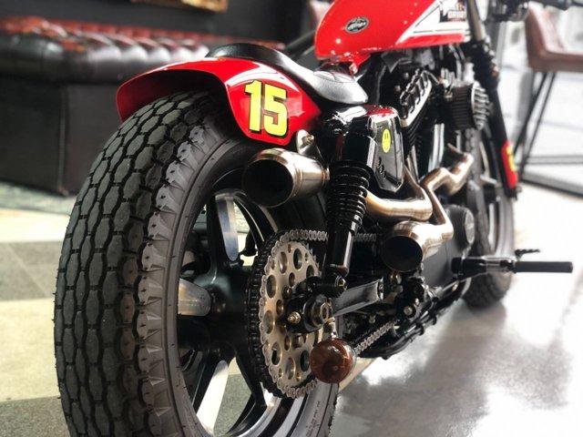 2015 15 HARLEY-DAVIDSON XL 1200 X FORTY EIGHT 15 Custom Cafe Racer // Px Swap