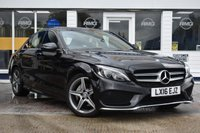 USED 2016 16 MERCEDES-BENZ C-CLASS 2.1 C220 D AMG LINE PREMIUM 4d 170 BHP AVAILABLE FOR ONLY £350 PER MONTH WITH £0 DEPOSIT