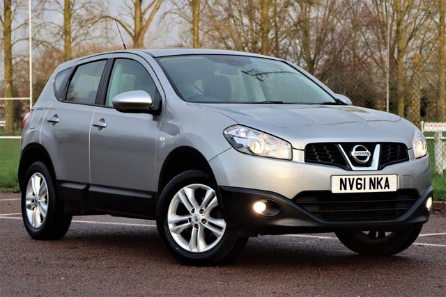 USED 2012 61 NISSAN QASHQAI 1.6 Acenta 2WD 5dr TOP SPEC 1yrs mot full hstry