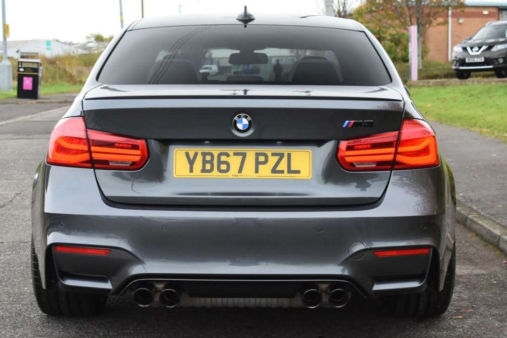 USED 2017 67 BMW M3 M3 3.0 BiTurbo Competition Pack DCT (s/s) 4dr