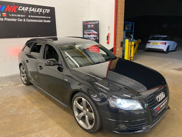 2011 11 AUDI A4 2.0 AVANT TDI BLACK EDITION 5d 141 BHP SOLD TO ADEN FROM GRANTHAM