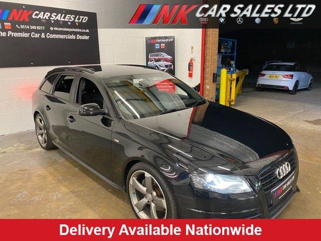 USED 2011 11 AUDI A4 2.0 AVANT TDI BLACK EDITION 5d 141 BHP AUTO NOW IN STOCK JUST BEEN SERVICED REAR BRAKES  DONE