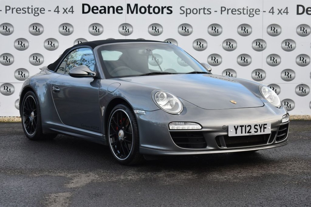 USED 2012 12 PORSCHE 911 3.8 CARRERA 4 GTS PDK 2d 408 BHP FABULOUS SPECIFICATION