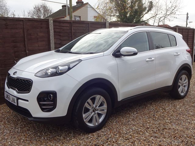 USED 2016 66 KIA SPORTAGE 1.6 2 ISG 5door *LOOK ONLY 1 OWNER FROM NEW* FULL KIA HISTORY*