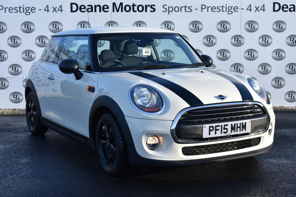 USED 2015 15 MINI HATCH ONE 1.2 ONE 3d 101 BHP BLACK PACK