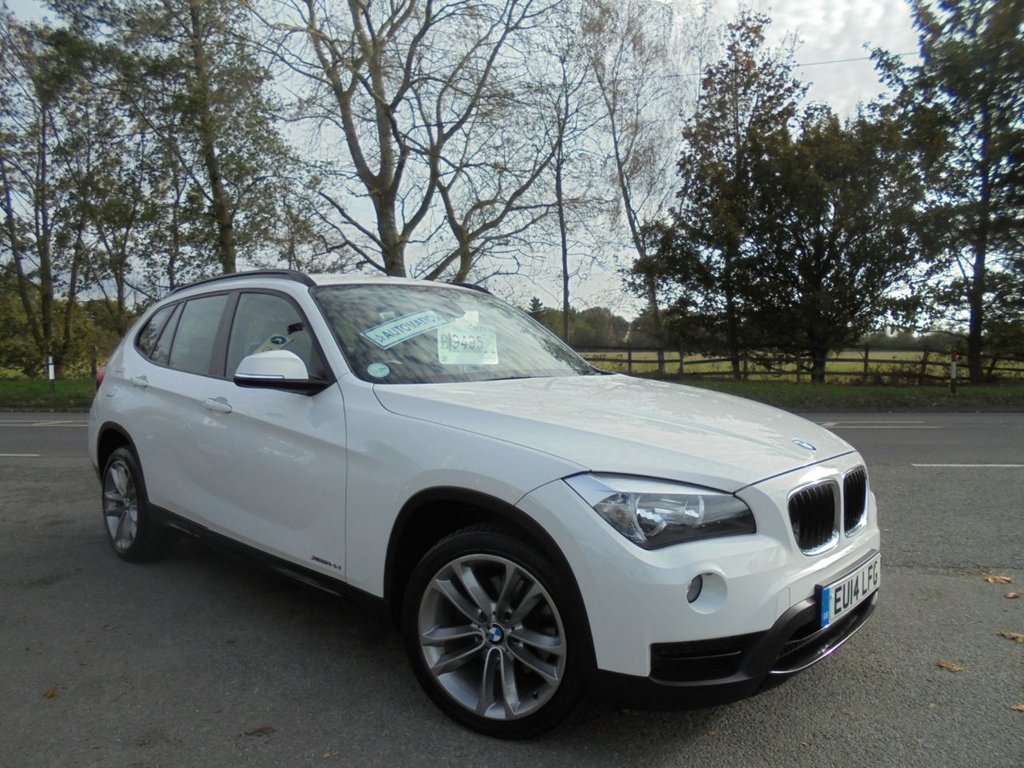 USED 2014 14 BMW X1 2.0 XDRIVE18D SPORT 5d 141 BHP