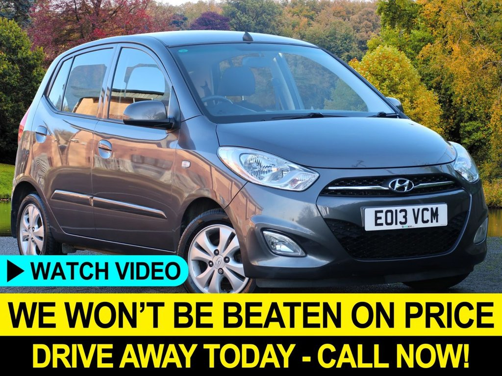 USED 2013 13 HYUNDAI I10 1.2 Active 5dr Lady Owner Great Car Low Insurance Great First Car