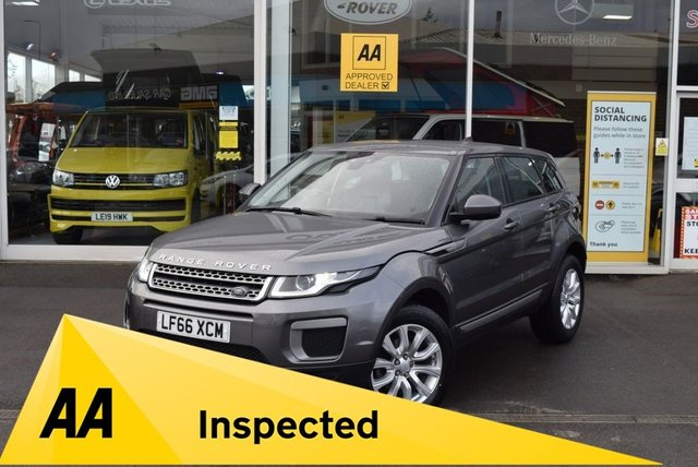 USED 2016 66 LAND ROVER RANGE ROVER EVOQUE 2.0 ED4 SE 5d 148 BHP FINANCE TODAY WITH NO DEPOSIT - LAND ROVER SERVICE HISTORY