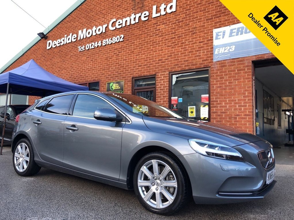 USED 2016 66 VOLVO V40 2.0 D3 INSCRIPTION 5d 148 BHP ZERO road tax : Full Volvo service history  : Bluetooth  : Sat Nav  : DAB radio  : Wi-Fi  : Leather upholstery  : Heated front seats  :  Heated screen  :  Isofix fittings  :  Air-conditioning/Climate control  :  Volvo City Safety system  :  Rear parcel shelf  :  Rear parking sensors