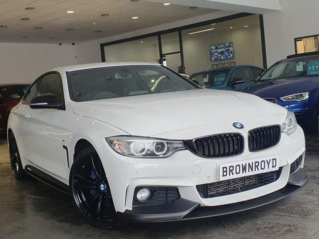 USED 2017 66 BMW 4 SERIES 2.0 420D M SPORT 2d 188 BHP BM PERFORMANCE STYLING+6.9%APR