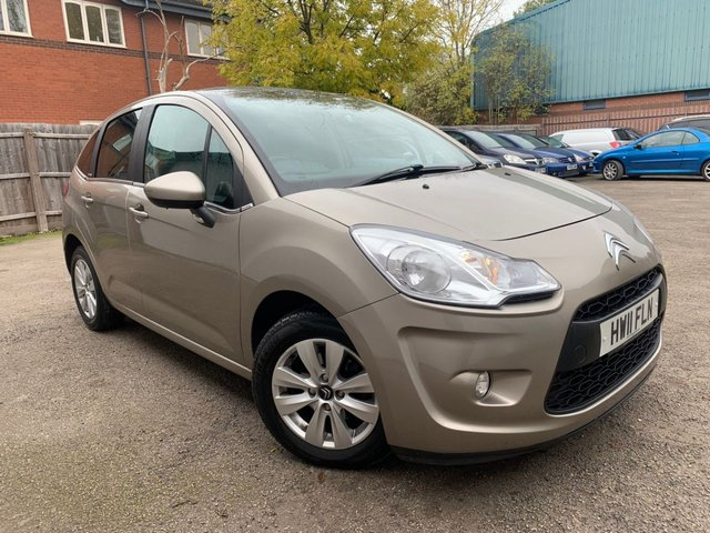 USED 2011 11 CITROEN C3 1.4 VTR PLUS HDI 5d 68 BHP PRIVACY GLASS, AIR CON, LOW MILEAGE, EXTENSIVE SERVICE HISTORY INC CAMBELT CHANGE 2018!