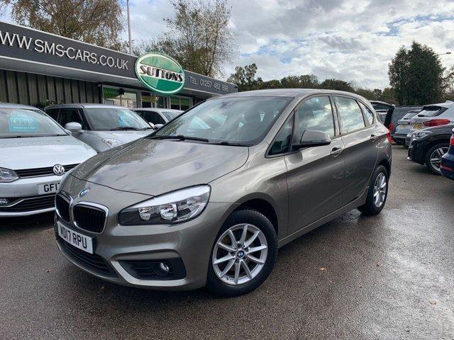 USED 2017 17 BMW 2 SERIES 1.5 218I SE ACTIVE TOURER 5d 134 BHP