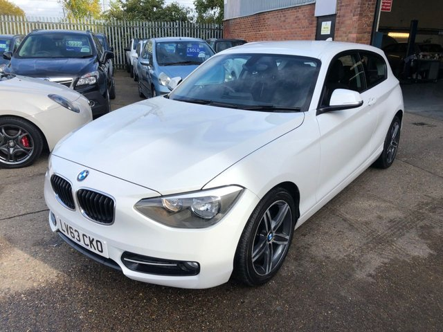 USED 2013 63 BMW 1 SERIES 1.6 116I SPORT 3d 135 BHP