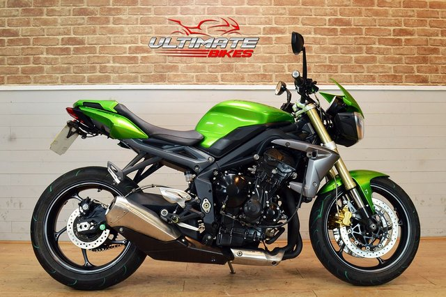 USED 2013 63 TRIUMPH STREET TRIPLE 675 ABS