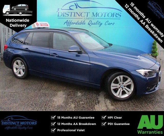 USED 2016 66 BMW 3 SERIES 2.0 318D SPORT TOURING 5d 148 BHP