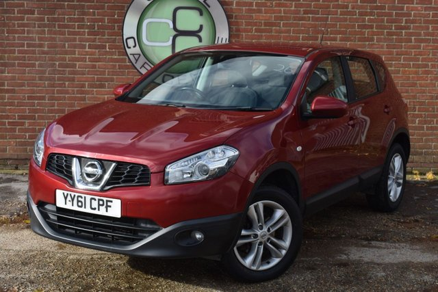 USED 2011 61 NISSAN QASHQAI 1.6 ACENTA 5d 117 BHP WE OFFER FINANCE ON THIS CAR