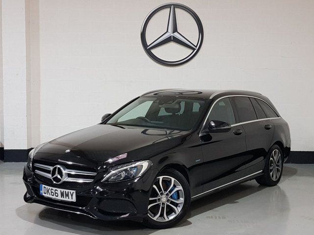 USED 2016 66 MERCEDES-BENZ C-CLASS 2.0 C350 E SPORT 5d 208 BHP 1 Owner/Sat-Nav/Heated Leather Seats/Camera/Park Sensors