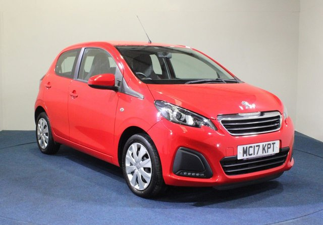 USED 2017 17 PEUGEOT 108 1.0 ACTIVE 5d 68 BHP