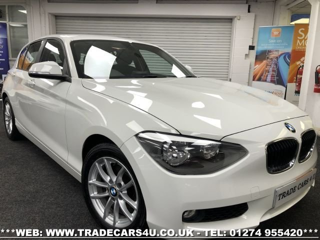 USED 2014 63 BMW 1 SERIES 1.6 116D EFFICIENTDYNAMICS 5d 114 BHP FREE UK DELIVERY*VIDEO AVAILABLE* FINANCE ARRANGED* PART EX*HPI CLEAR