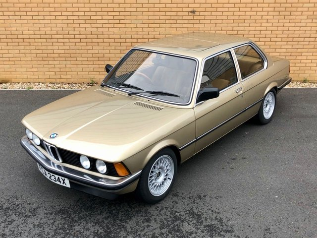 1982 BMW 3 SERIES E21 // M50 b25 // 2d // 210bhp // Px swap