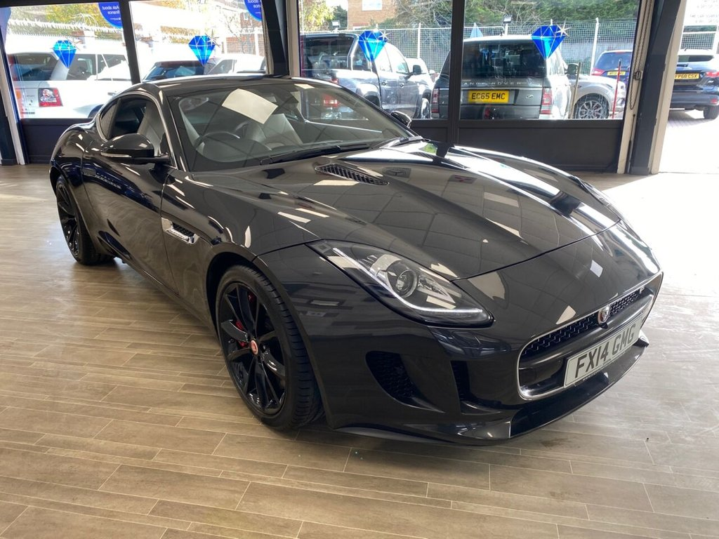 USED 2014 14 JAGUAR F-TYPE 3.0 V6 S 2d 380 BHP JUST ARRIVED JUST SERVICED READY TO GO