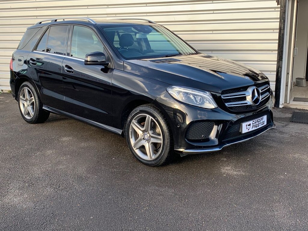 USED 2016 16 MERCEDES-BENZ GLE-CLASS 3.0 GLE 350 D 4MATIC AMG LINE 5d 255 BHP NAV / REV CAM / APPLE CAR