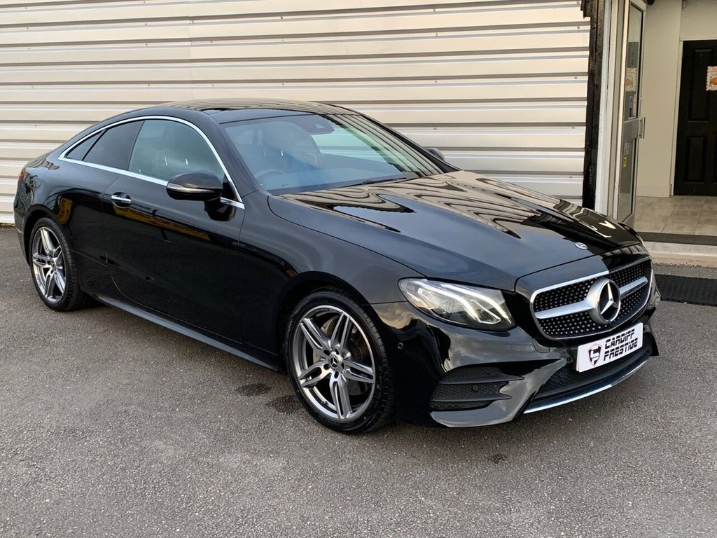 USED 2018 18 MERCEDES-BENZ E-CLASS 2.0 E 220 D AMG LINE PREMIUM 2d 192 BHP PREMIUM PACK + DIGITAL DASH